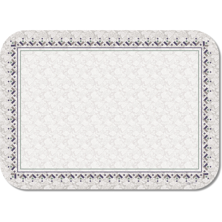 "DX5332M - Aztec Tray Cover Size: M w/Straight Edge/Round Corner 13-5/8"" x 18-3/4"" (1000/cs)"