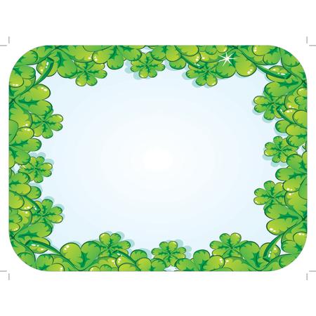 "DXHS052I001 - St. Patrick's Day Design Traycover Size: I w/ Straight Edge/Round Corner 12-1/2"" x 16-1/2"" (100/pk)"