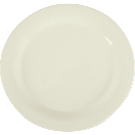 "3300242 - Sierrus™ Melamine Narrow Rim Dinner Plate 10.5"" - Bone"