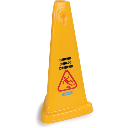 """3694004 - Caution Cones And Barriers Caution Cone 27"""" - Yellow"""