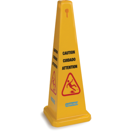 "3694104 - Caution Cones And Barriers Caution Cone 36"" - Yellow"
