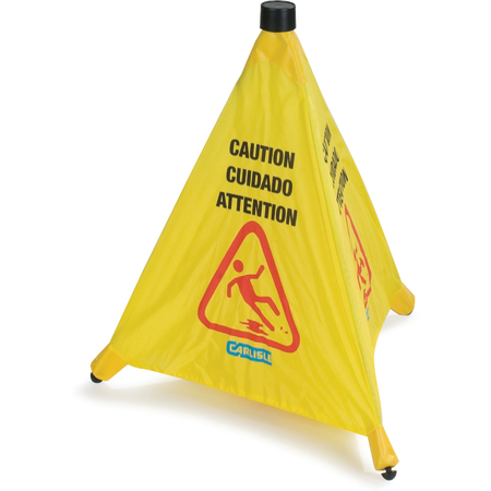 """3694204 - Pop-Up Caution Cone 20"""" - Yellow"""