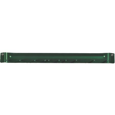 "4073509 - Spectrum® Aluminum Brush Rack 17"" Long - Green"