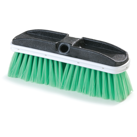 "3646875 - Flo-Thru Brush with Flagged Nylex Bristles 10"" - Green"