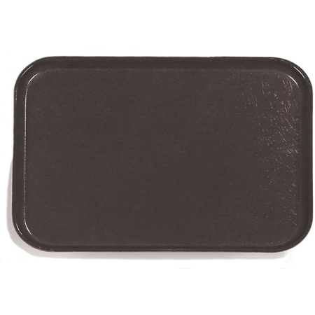 "1814FG004 - Glasteel™ Fiberglass Tray 18"" x 14"" - Black"