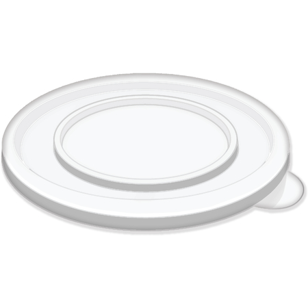 DXTT39 - Disposable Lid - Fits Specific 8 - 32 oz Dinex and G.E.T. Enterprises Tumblers and Bowls (1000/cs)