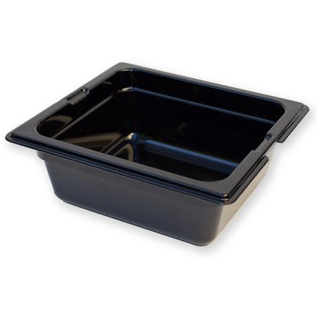 "1050003 - TopNotch® Food Pan HH 2.5"" DP 1/6 Size - Black"