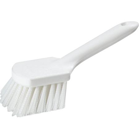 """4547202 - Utility Scrub With Polystyrene Bristles 9-1/4"""" - White"""