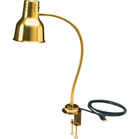 "HL8185GC00 - FlexiGlow™ Single Arm Heat Lamp, Includes Clamp 24"" - Gold"