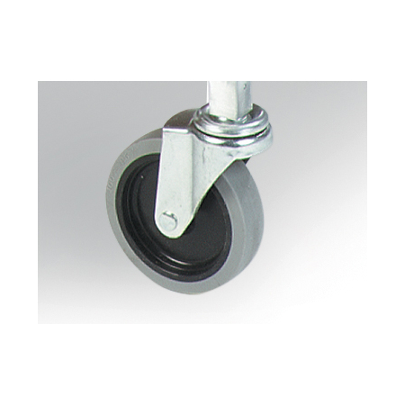 "36908C00 - 3"" Swivel Casters for Mop Buckets 3"" - Silver"