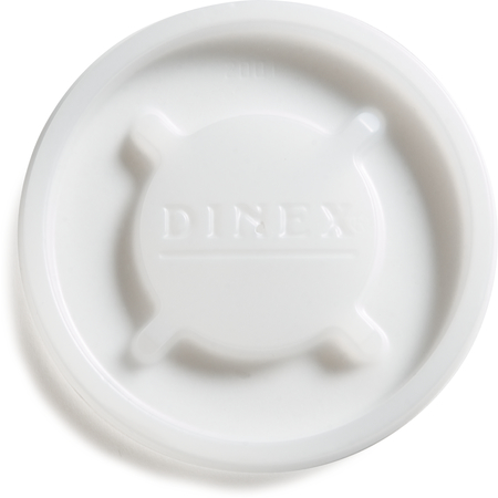 DX20019000 - Disposable Lid - Fits Specific 6 oz Cambro Tumblers  (1500/cs) - Translucent
