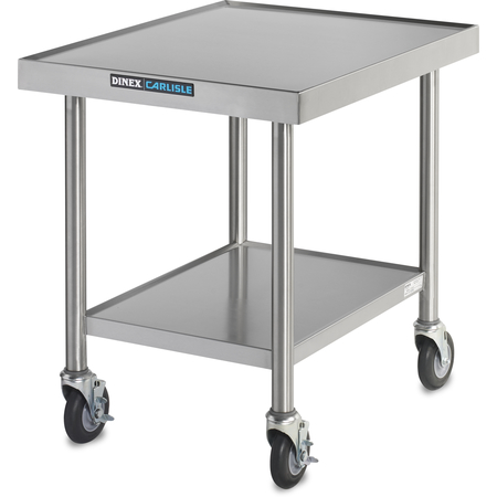 "DXPICTABLEM - Mobile Table for Induction Charger 30"" x 24"" x 30.12"" - Stainless Steel"