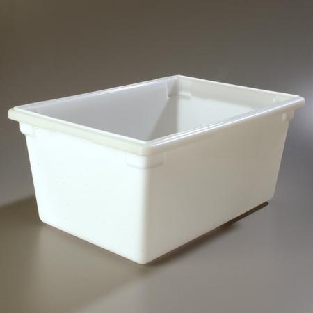 """1064302 - StorPlus™ Polyethylene Food Box Storage Container 16.6 Gallon, 26"""" x 18"""" x 12"""" - White"""