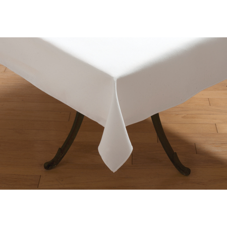 "53785858SM010 - SoftWeave™ Square Tablecloth 58"" x 58"" - White"