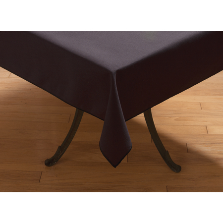 "53785252SM014 - SoftWeave™ Square Tablecloth 52"" x 52"" - Black"