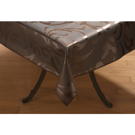 "57285252SM012 - Expressions™ Series Tablecloth Trellis 52"" x 52"" - Coppertone"