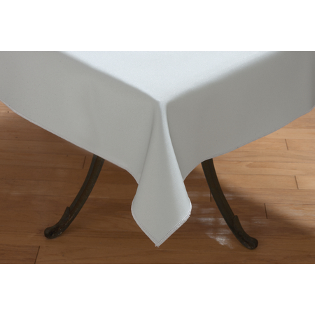 "59085252SM625 - Vative™ Series Tablecloth 52"" x 52"" - Metallic Silver"