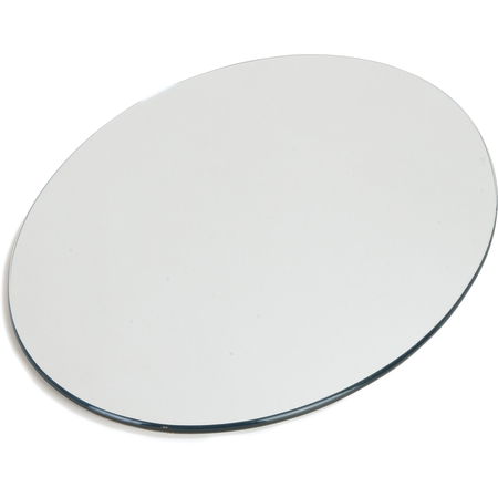 "SMO162423 - MirAcryl™ Oval Tray 23-1/2"" x 15-1/2"" - Mirrored"