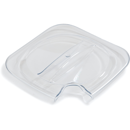 CM140407 - Designer Coldmaster® 1 Qt Notched Lid - Clear