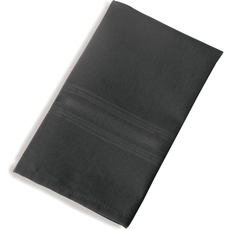"53761822NH014 - SoftWeave™ Tone on Tone Epicure Napkins 18"" x 22"" - Black"