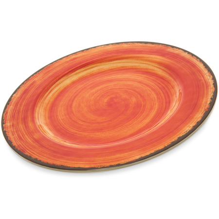 "5400152 - Mingle Melamine Dinner Plate 11"" - Fireball"
