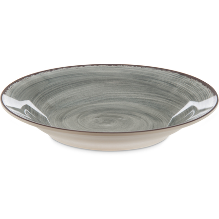 5400318 - Mingle Melamine Rimmed Soup Bowl 28.5 oz - Smoke