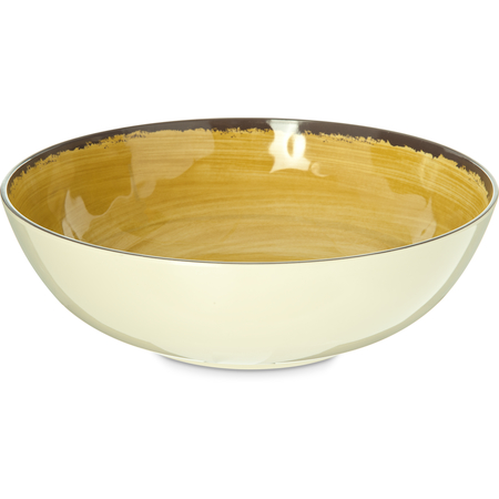5401313 - Mingle Melamine Large Serving Bowl 5 Quart - Amber