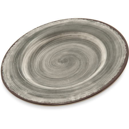 "5400218 - Mingle™ Melamine Dinner Plate 9"" - Smoke"
