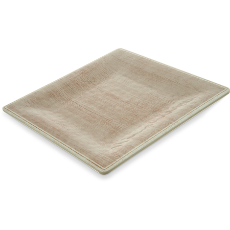 "6402370 - Grove Melamine Square Salad Plate 8.5"" - Adobe"