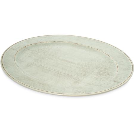 "6402106 - Melamine Oval Platter Tray 20"" x 14"" - Buff"