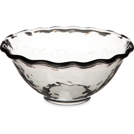 TRA0418 - Terra Ruffle Bowl 37 oz - Smoke