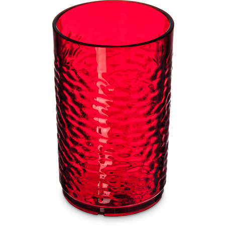 550910 - Pebble Optic™ SAN Tumbler 9.5 oz - Ruby