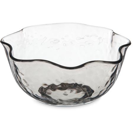 TRA0518 - Terra Ruffle Bowl 28 oz - Smoke