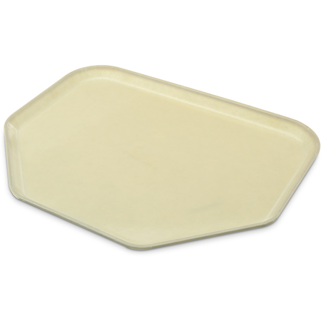 "1713FG003 - Glasteel™ Fiberglass Tray Trapezoid 18"" x 14"" - Natural"