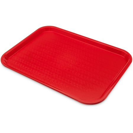 "CT1216-8105 - Cafe® Fast Food Cafeteria Tray 12"" x 16"" - Cash & Carry (6/pk) - Red"