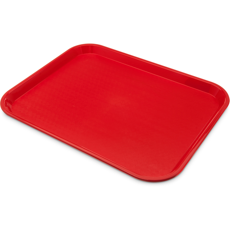 "CT1418-8105 - Cafe® Standard Tray 14"" x 18"" - Cash & Carry (6/pk) - Red"