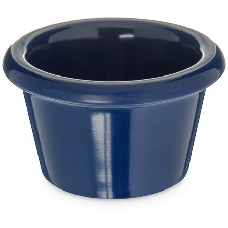 S27560 - Melamine Smooth Ramekin 1.5 oz - Cobalt Blue