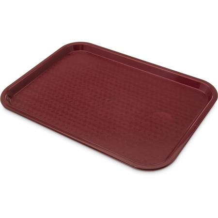 "CT121661 - Cafe® Standard Tray 12"" x 16"" - Burgundy"