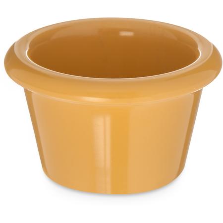 S27522 - Melamine Smooth Ramekin 1.5 oz - Honey Yellow