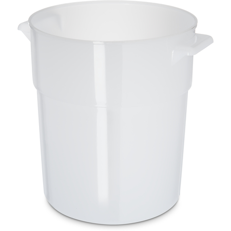 035002 - Polyethylene Bain Marie Food Storage Container 3.5 qt - White