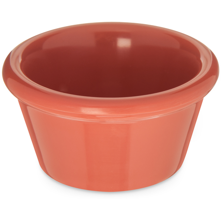 085252 - Melamine Smooth Ramekin 2 oz - Sunset Orange