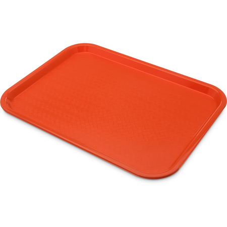 "CT121624 - Cafe® Fast Food Cafeteria Tray 12"" x 16"" - Orange"
