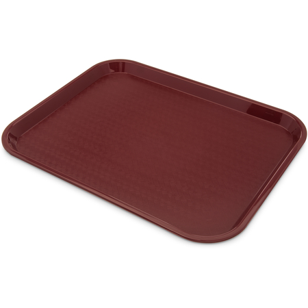 "CT141861 - Cafe® Fast Food Cafeteria Tray 14"" x 18"" - Burgundy"