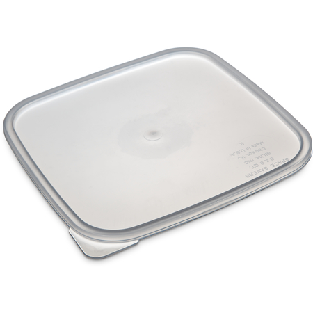 ST158730 - StorPlus™ Polypropylene Space Saver Food Storage Container Lid 6 - 8 qt - See Thru