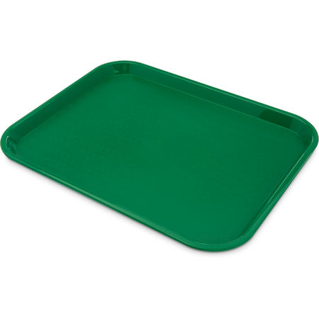 "CT141809 - Cafe® Fast Food Cafeteria Tray 14"" x 18"" - Green"