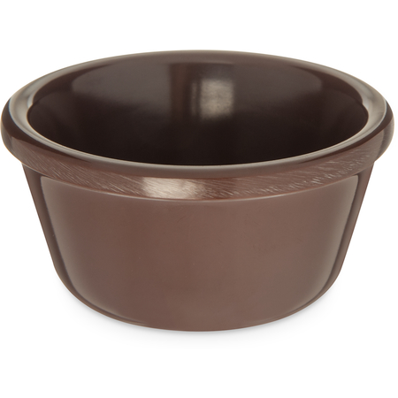 S28069 - Melamine Smooth Ramekin 3 oz - Chocolate