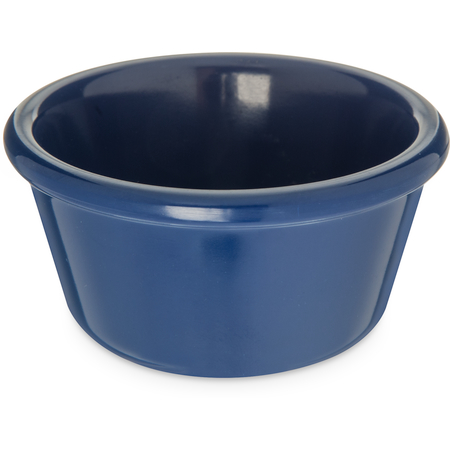 S28060 - Melamine Smooth Ramekin 3 oz - Cobalt Blue