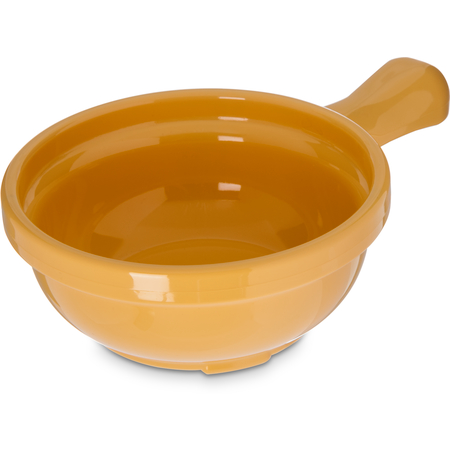 "700622 - Handled Soup Bowl 8 oz, 4-5/8"" - Honey Yellow"