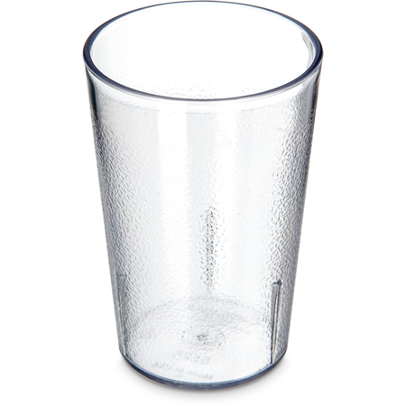 5526-807 - Stackable™ SAN Tumbler 8 oz - Cash & Carry (12/st) - Clear