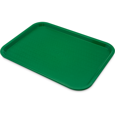 "CT121609 - Cafe® Fast Food Cafeteria Tray 12"" x 16"" - Green"